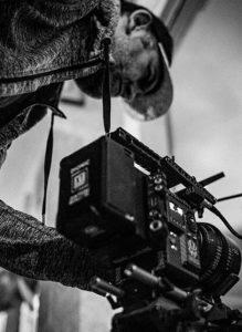 заснемане с професионална камера